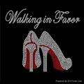 Walking in Favor high heel rhinestone