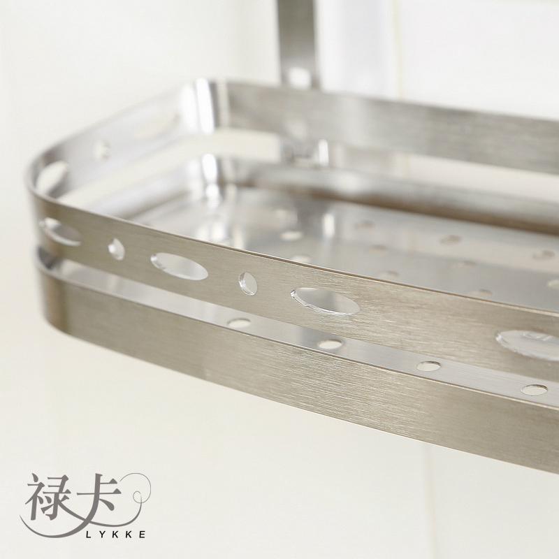 304不鏽鋼廚房置物架單層調味料架 3