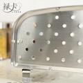 304不鏽鋼廚房置物架單層調味料架 2