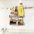 祿卡家居-不鏽鋼雙層調料架 1