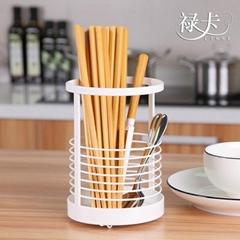 韓式小清新簡約鐵藝刀叉筷子筒