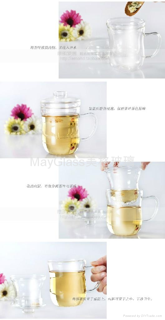 Glass cup,tea cup, 3