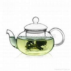 耐熱玻璃花茶壺