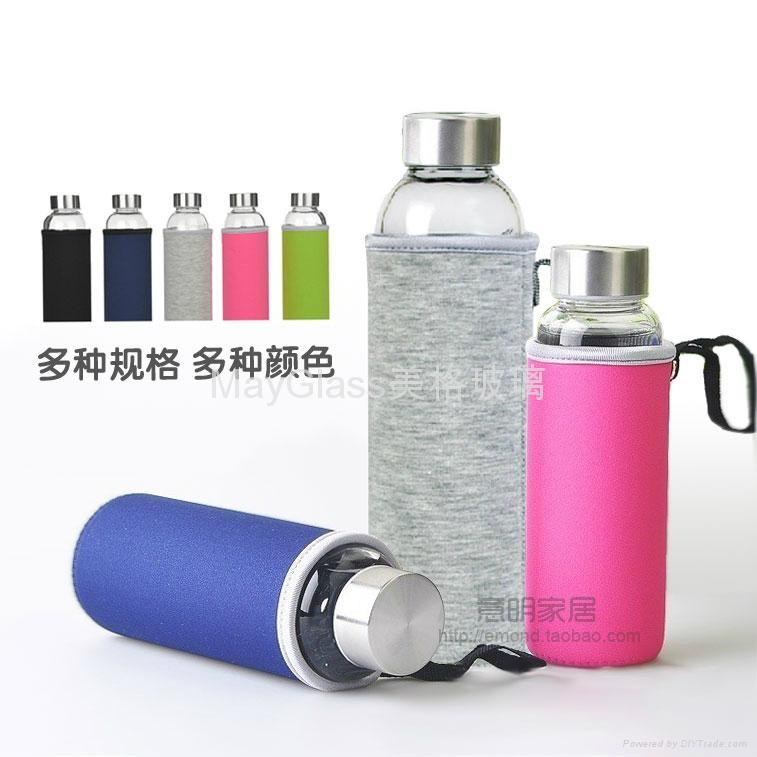 耐热玻璃密封车载水杯瓶 1