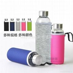 耐熱玻璃密封車載水杯瓶