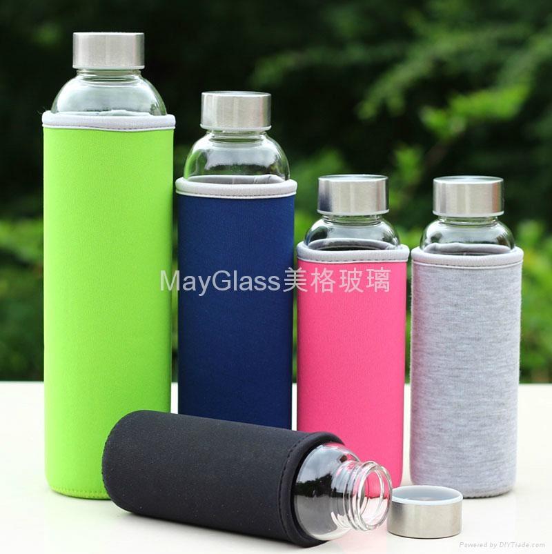 耐热玻璃密封车载水杯瓶 4