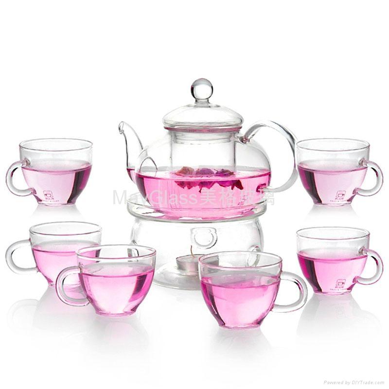 glass tea set 3
