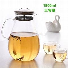 耐热玻璃晾水壶茶壶