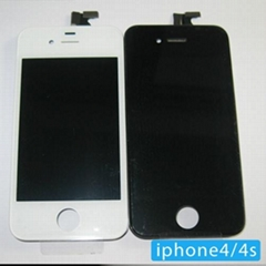 iphone 4 screen digitizer assemble for replacement black and white