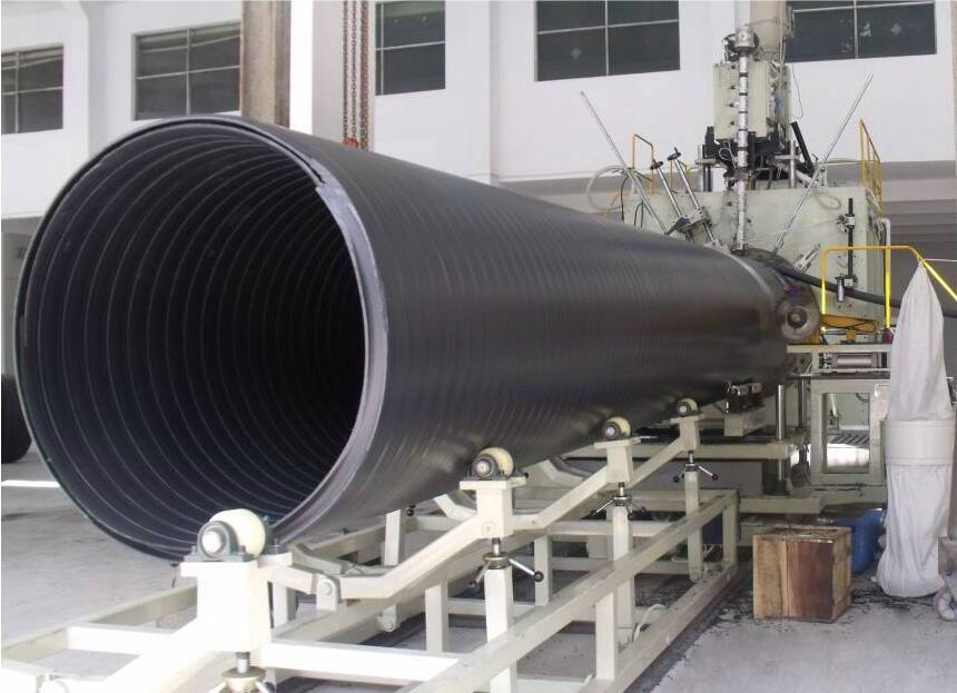 KR-系列中空壁纏繞管生產線 5