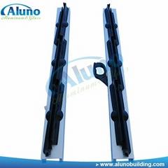 Controlable aluminum louvre frame for villa
