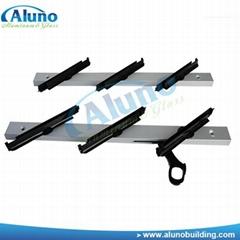 Good ventilation louver aluminium profile glass frame