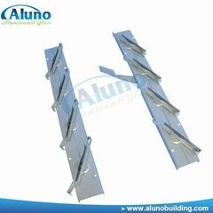 Metal louver window frame in factory price
