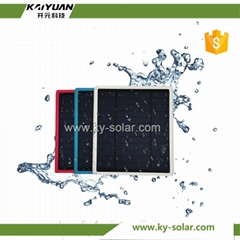 Clear energey light solar cell phone charger as gift