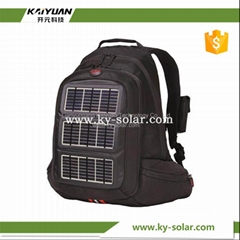 Camping bag travelling solar backpack