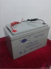 12V-100AH lead-aicd battery