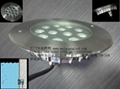 超薄LED嵌入式水底燈