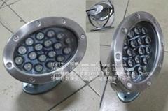 18W橢圓形LED不鏽鋼水底燈
