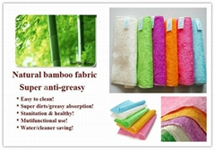 100%Bamboo fiber dishcloth,Cleaning