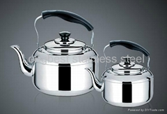 Stainless Steel Whistling Water &Tea Pot Kettle