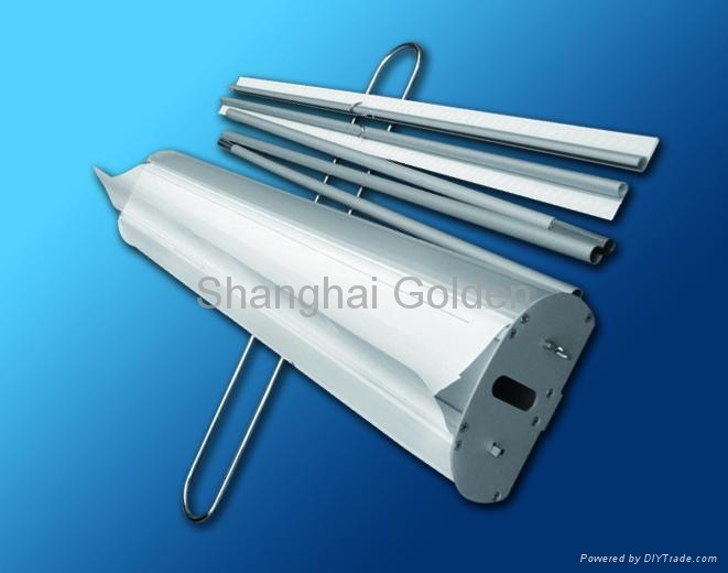 Double side Roll up stand 2