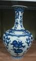 景德鎮青花瓷山水花瓶