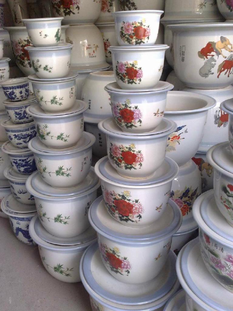 景德鎮陶瓷花盆 1