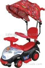 ride on swing car 993-BH3 with tent