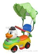 kids riding toys 993-A3 with tent 1