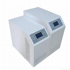 Hybrid inverter MPPT charge controller inside