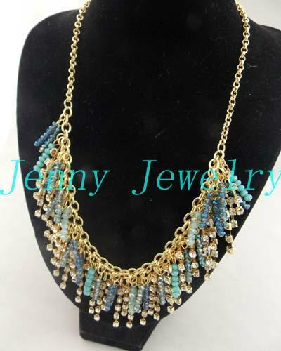 hot selling beads&crystal necklace jewelry 2