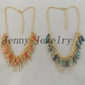 hot selling beads&crystal necklace jewelry 3