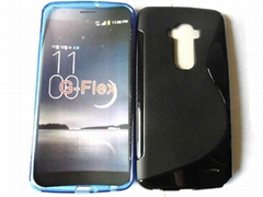 lg g-flex protective case made of soft tpu case
