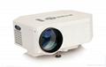 Portable cheap mini led projector
