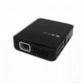 New model upgrade HD  mini portable  projector  support 1080P 1