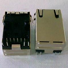 RJ45網口100M安費諾插座
