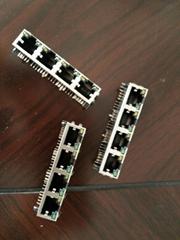RJ45網口插座水晶頭連接器