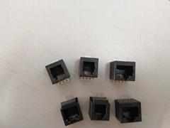 網口RJ45插座水晶頭網絡連接器母座
