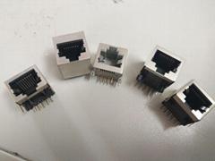 網口系列RJ45插座水晶頭網絡連接器