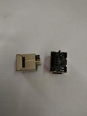 立式超薄網口插座
