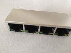四口網口系列帶線插座616產品