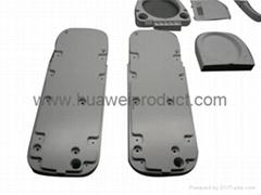 CNC machining plastic part prototypes