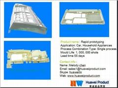 customised metal plastic rapid prototype manufacturing