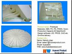 CNC machining plastic part prototypesprototype mold