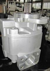 hydraulic gear pump 705-11-38010 used for  komatsu WA90-2-3 W120-3