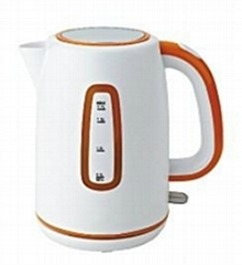 1.7L electric kettle with cordless