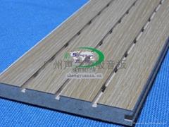 声源A级防火槽孔吸音板_28/4型防火吸音板