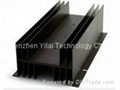 Black anodized heatsink design
