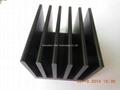 black anodized heatsink