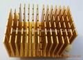 golden anodized heatsink